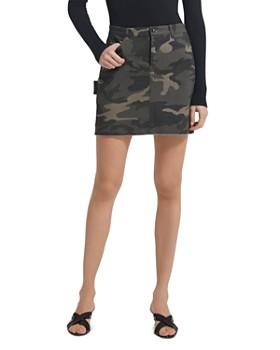 ATM Anthony Thomas Melillo - Twill Camo Mini Skirt