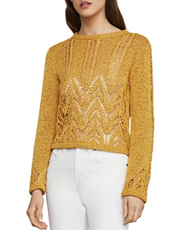 BCBGMAXAZRIA - Mixed-Stitch Sweater
