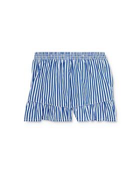 Ralph Lauren - Girls' Striped & Ruffled Shorts - Little Kid
