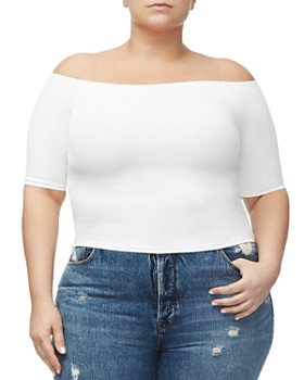 Good American - Off-the-Shoulder Top