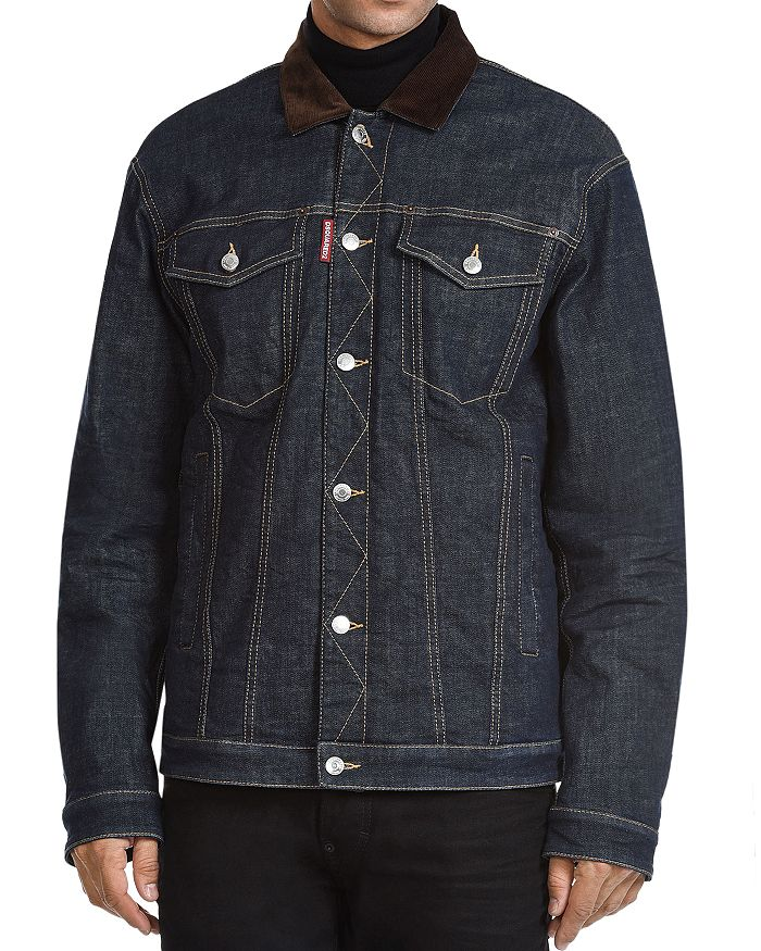 DSQUARED2 - Sherpa-Lined Denim Jacket