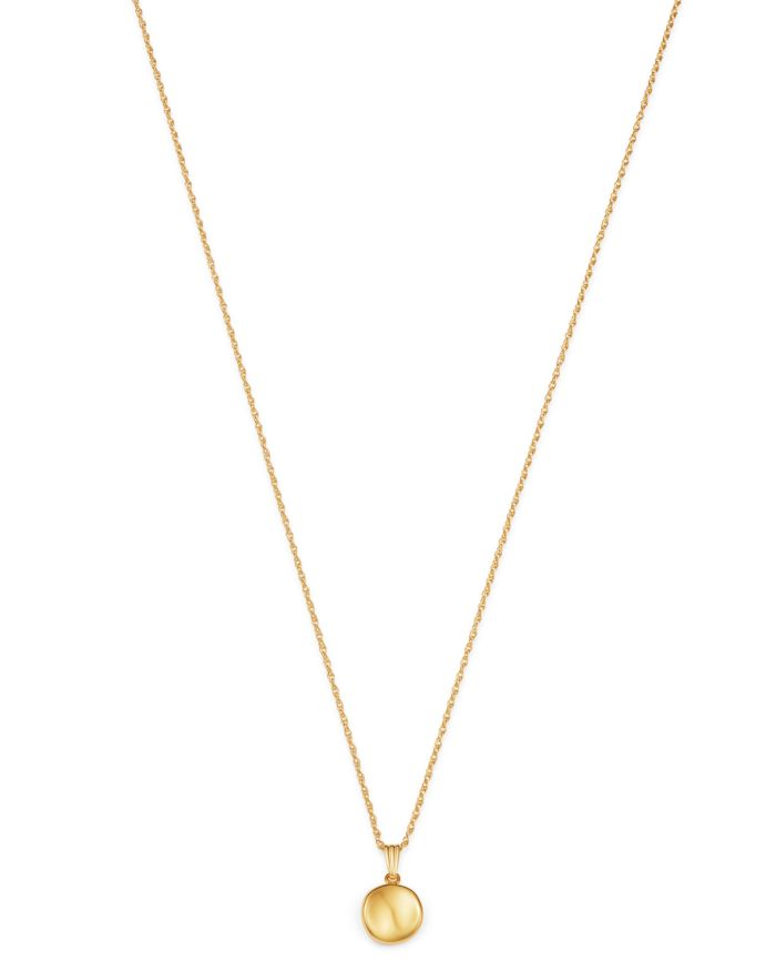 """Bloomingdale's Disc Pendant Necklace in 14K Yellow Gold, 18"""" - 100% Exclusive    Bloomingdale's"""