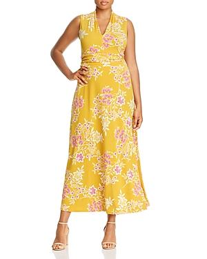 Vince Camuto Plus Floral Getaway Maxi Dress