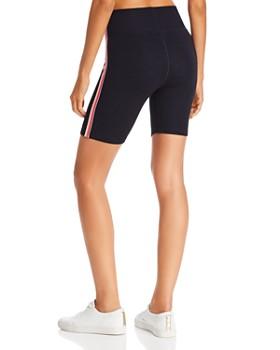 Sundry - Rainbow-Striped Bike Shorts