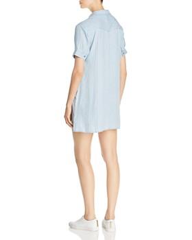 Billy T - Striped Chambray Mini Dress