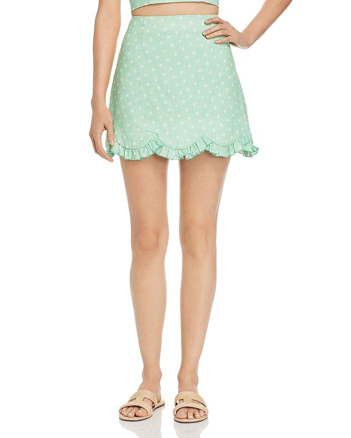 Finders Keepers - Wildflower Floral-Print Mini Skirt