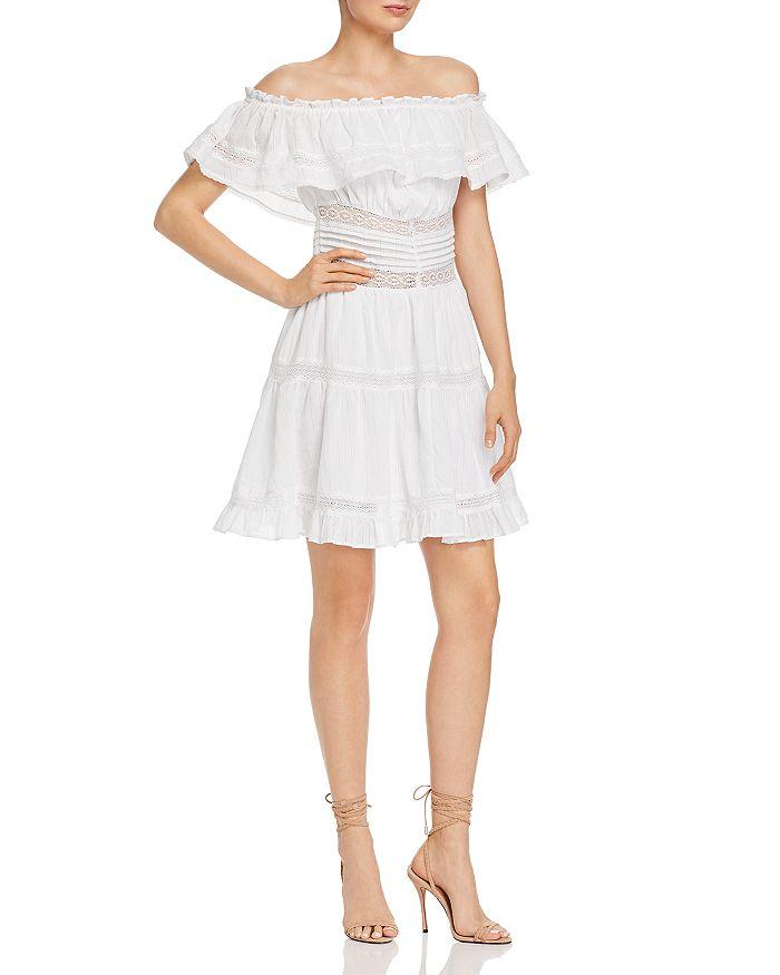 Rahi - Desert Emma Lace-Inset Mini Dress