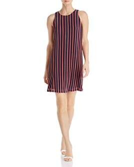 Adrianna Papell - Striped Shift Dress