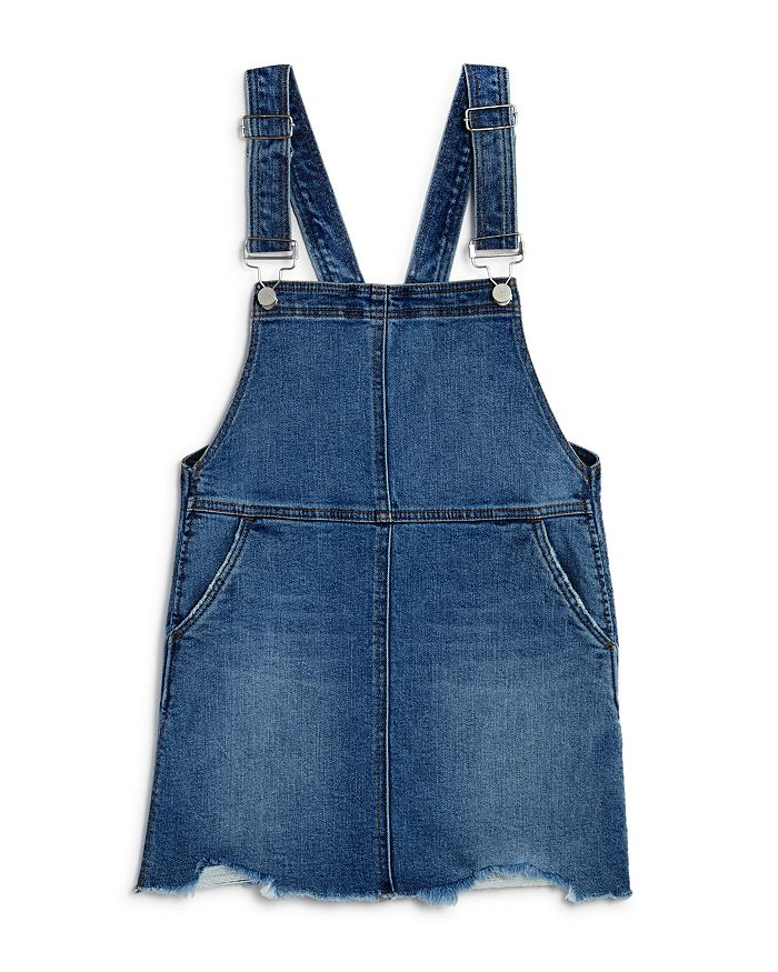 AQUA - Girls' Denim Skirtalls, Big Kid - 100% Exclusive