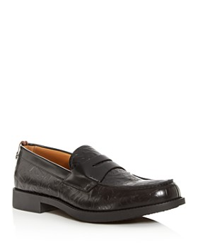 Burberry - Men's Emile Leather Moc-Toe Penny Loafers