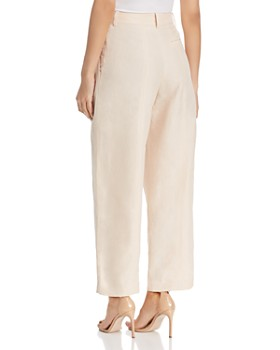 Armani - High-Waist Flat Front Pants