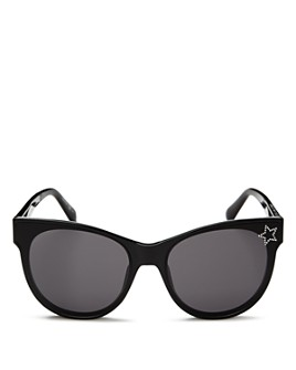 Stella McCartney - Women's Embellished Star Cat Eye Sunglasses, 61mm