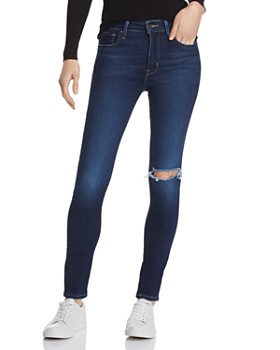 Levi's - 721 High-Rise Skinny Jeans in London Haze