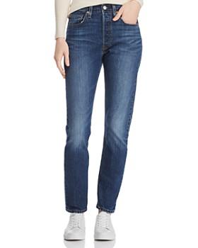 Levi's - 501 Skinny Jeans in Neat Freak