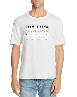 Helmut Lang Tops LOGO-PATCH TEE