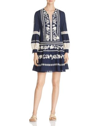 Boho Embroidered Dress by Tory Burch