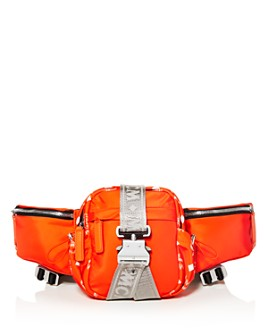 MCM - Jemison Mini Nylon Convertible Belt Bag