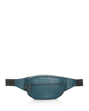 Bottega Veneta Medium Woven Leather Belt Bag
