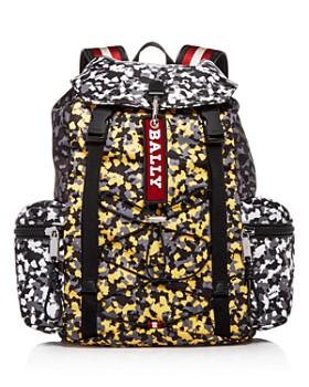 Bally - Crew Color-Block Nylon Backpack