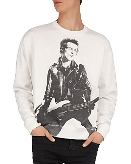The Kooples - Sex Pistols Print Crewneck Sweatshirt