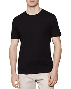 REISS - Bless Cotton Crewneck Tee