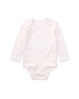 Ralph Lauren - Girls' Embroidered Polo Bear Bodysuit - Baby