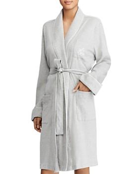 17b294043c3ee Ralph Lauren - Quilted Collar   Cuffs Short Robe ...