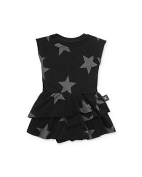 NUNUNU - Girls' Star Skirted Bodysuit - Baby