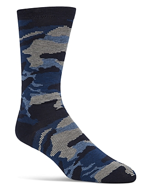 Cole Haan Camouflage-Print Socks
