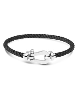 Fred - 18K White Gold Force 10 Large Buckle & Cable Options