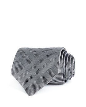 Burberry - Clinton Cut Check Silk Classic Tie