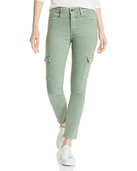 PAIGE - Hoxton Skinny Cargo Jeans