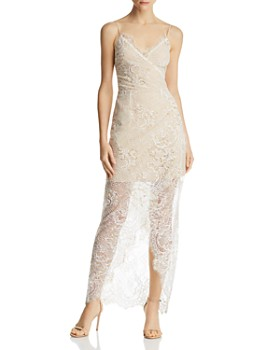 WAYF - Gwen Illusion Lace Dress