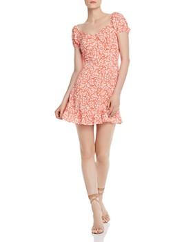 Lost and Wander - Selena Floral-Print Mini Dress