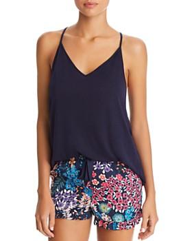 Josie - Cami & Floral Shorts PJ Set