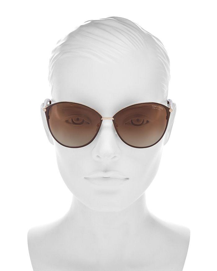 c025692d Women's Penelope Polarized Cat Eye Sunglasses, 59mm
