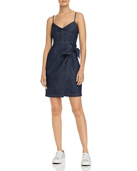 Rebecca Taylor - Denim Wrap Dress