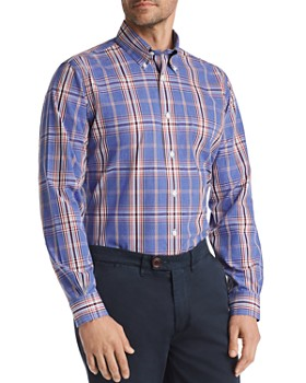 Brooks Brothers - Yarn-Dyed Plaid Classic Fit Button-Down Shirt