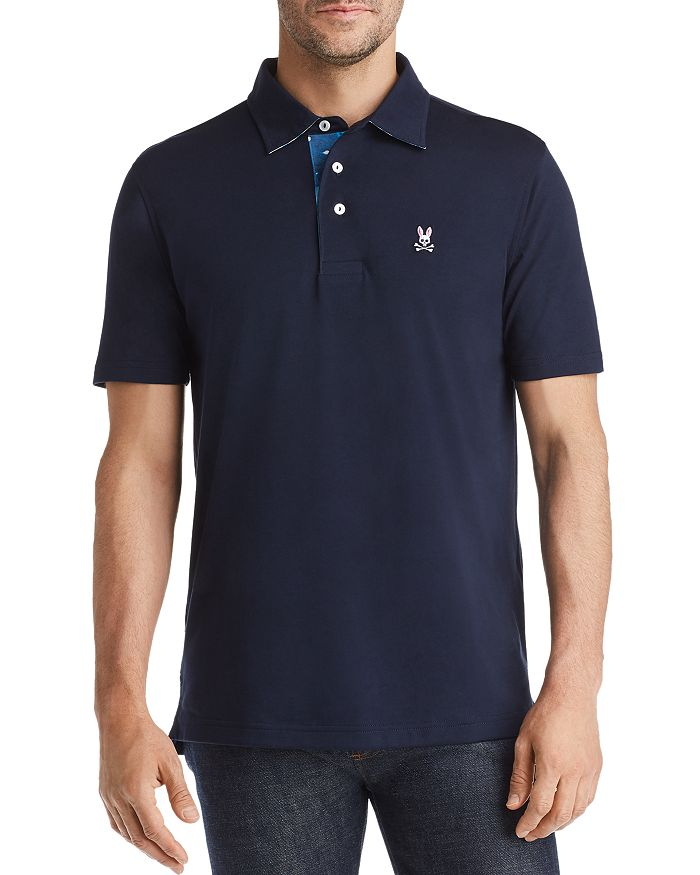 Psycho Bunny - Tie-Dye-Accented Classic Fit Polo Shirt