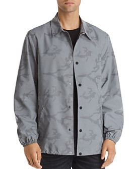 True Religion - Reflective Camouflage-Print Jacket