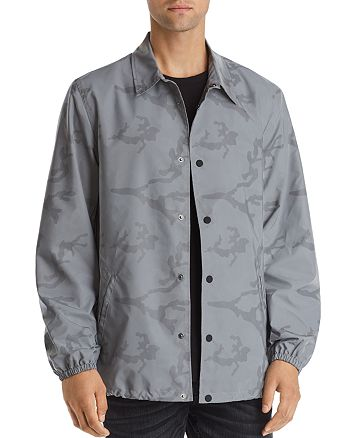 True Religion - Reflective Camouflage-Print Jacket