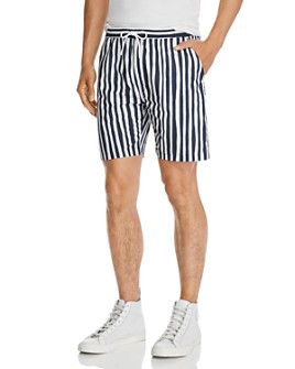 WeSC - Striped Slim Fit Shorts