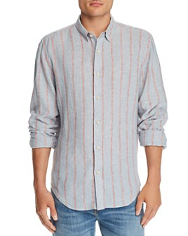 7 For All Mankind - Roadster Striped Regular Fit Shirt