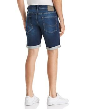 JACK + JONES - Icon Regular Fit Denim Shorts in Blue