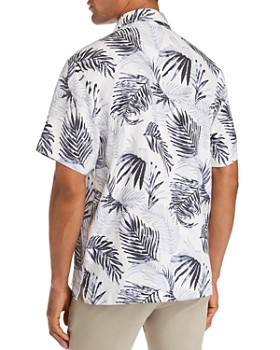 Tommy Bahama - Adriatic Short-Sleeve Frond-Print Classic Fit Shirt