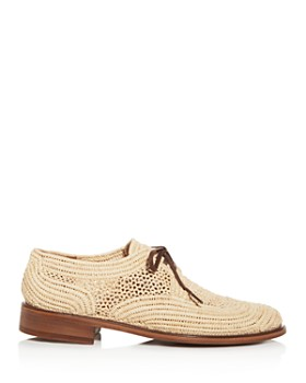 Clergerie - Women's Japaille Woven Oxfords