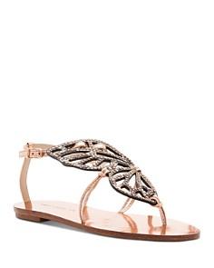 Sophia Webster - Women's Butterfly Stud Sandals