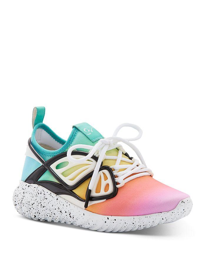 Sophia Webster - Women's Fly-By Rainbow Low-Top Sneakers