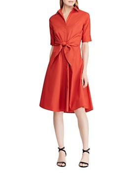 Ralph Lauren - Tie-Front Shirt Dress