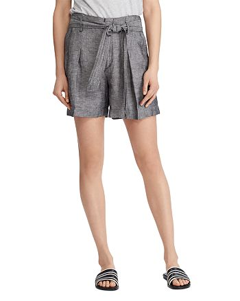Ralph Lauren - Belted Pleated Shorts